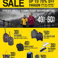 Read more about The Planet Traveller Up To 70% OFF SALE @ Paragon 15 - 23 May 2014