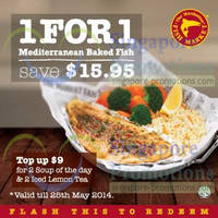 Read more about Manhattan Fish Market Dine-In Discount Coupons 2 - 25 May 2014