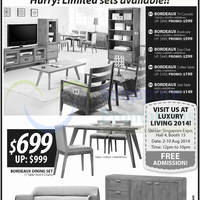 Luxury Living 2014 Singapore Expo 2 10 Aug 2014