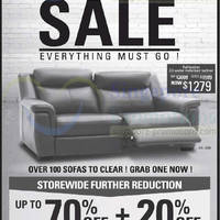 Read more about HTL Sofas Pre-Renovation Warehouse SALE 17 May 2014