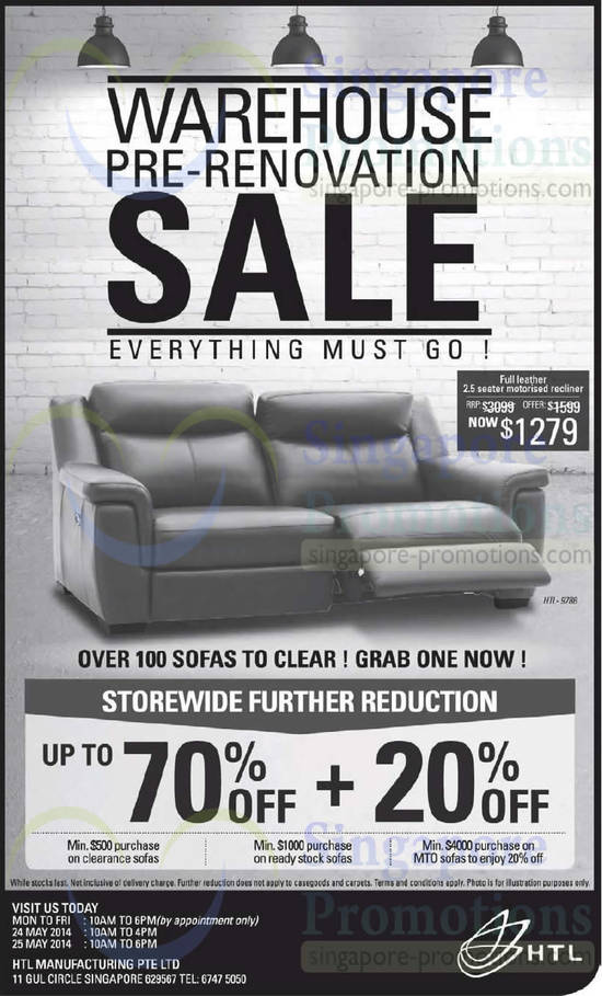 24 May 70 Percent Storewide Further Reduction