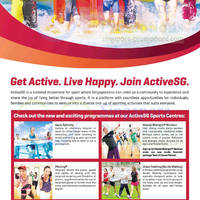 Read more about Singapore Sports FREE $100 ActiveSG For Singaporeans & PRs 1 May 2014