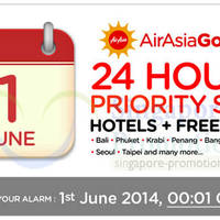 Read more about Air Asia Go Hotels + FREE Flights Packages 24Hrs Priority Promo 1 Jun 2014