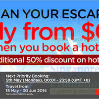 Read more about Air Asia Go Book A Hotel & Get FREE Flights Promo 5 - 11 May 2014