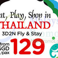 Read more about Air Asia Go From $129 Thailand 3D2N Promo 23 - 31 May 2014