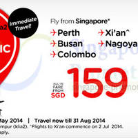 Read more about Air Asia From $159 KLIA2 Fly-Thru Air Fares Promo 12 - 18 May 2014