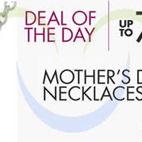 Read more about Amazon Up To 70% OFF Mother's Day Necklace Gifts 24Hr Promo 6 - 7 May 2014