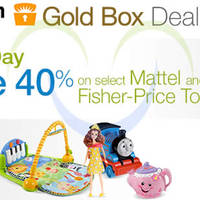Read more about Fisher-Price & Mattel 40% OFF 24Hr Promo 15 - 16 May 2014
