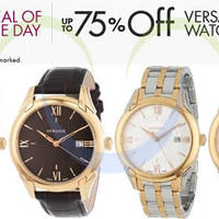 Read more about Versace Watches Up To 75% OFF 24hr Promo 22 - 23 May 2014