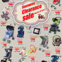 Read more about Baby Hyperstore Up To 60% OFF Storewide Clearance 24 - 25 May 2014