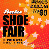 Read more about Bata Shoe Fair @ Junction 8 26 May - 1 Jun 2014