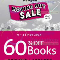 Read more about Borders 60% OFF Books Moving Out SALE 9 - 25 May 2014