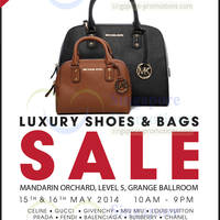 Read more about Brandsfever Handbags & Footwear Sale @ Mandarin Orchard 15 - 16 May 2014