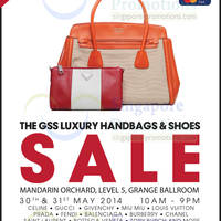 Read more about Brandsfever Handbags & Footwear Sale @ Mandarin Orchard 30 - 31 May 2014