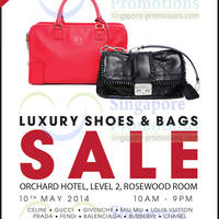 Read more about Brandsfever Handbags & Footwear Sale @ Orchard Hotel 10 May 2014
