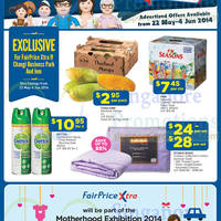 Read more about NTUC Fairprice Electronics, Personal Care, Groceries & Other Offers 22 May - 5 Jun 2014