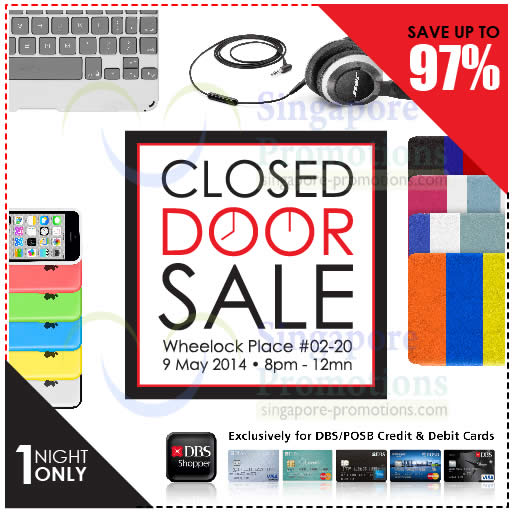 Closed Door Sale Venue, Date, Time