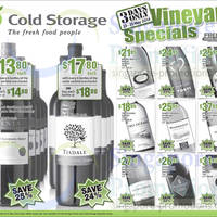 Read more about Cold Storage Wines Vineyard Promo Offers 23 - 25 May 2014