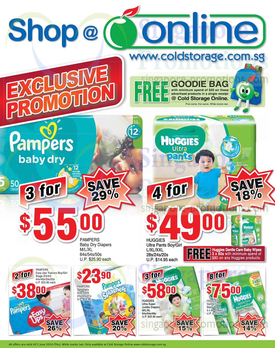 Cold Storage Baby Online Promotion Offers 29 May 5 Jun 2014