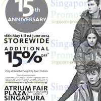 Read more about Coldwear 15th Anniversary Promotion Offers 16 May - 1 Jun 2014