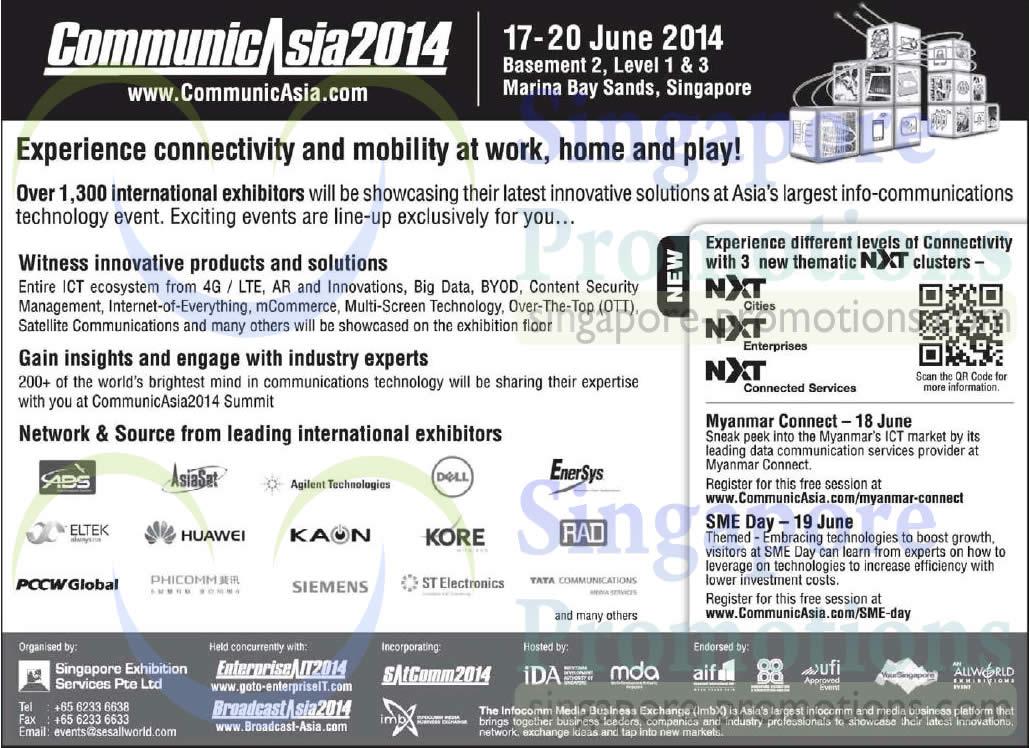 Communic Asia 12 May 2014