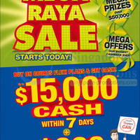 Read more about Courts Mega Raya Sale Offers 24 - 25 May 2014