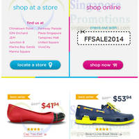 Read more about Crocs 40% OFF 3 Day Coupon Promo 9 - 11 May 2014