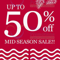 Read more about Dot Up To 50% OFF Mid Season SALE 26 May - 27 Jul 2014