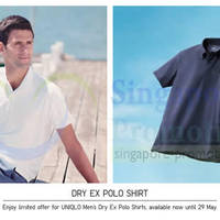 Read more about Uniqlo Dry EX Polo Shirts & More Promo Offers @ Islandwide 23 - 29 May 2014