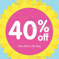 Read more about Early Learning Centre 40% OFF Storewide SALE 8 - 11 May 2014