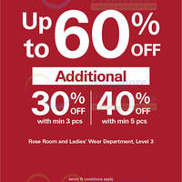 Read more about Esprit Up To 60% OFF 22 - 26 May 2014