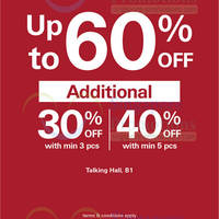 Read more about Esprit Up To 60% OFF @ Takashimaya 27 May - 3 Jun 2014