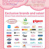 Read more about SuperMom Bazaar Fair @ Suntec Convention Centre 22 - 24 Aug 2014