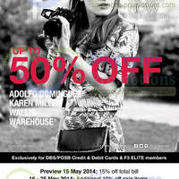 Read more about F3 Elite Fashion Brands Mid Season SALE 15 May - 8 Jun 2014