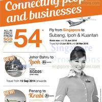 Read more about Firefly From $54 Subang, Ipoh & Kuantan Air Fares Promo 29 May - 15 Jun 2014