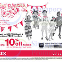 Read more about Fox Fashion Spend S$60 & Get 10% OFF 22 May - 8 Jun 2014