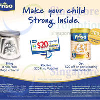 Read more about Friso Trade-in Non-Friso Tin & Get FREE $20 Voucher Roadshow 10 May - 29 Jun 2014