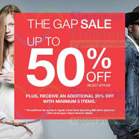 Read more about GAP Up To 60% OFF Mid Year SALE (Further Reductions!) 23 May 2014