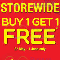 Read more about Giordano Buy 1 Get 1 FREE Storewide Promo 27 May - 1 Jun 2014