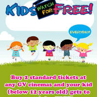 Read more about Golden Village Cinemas Kids Watch FREE 9 May - 31 Dec 2014