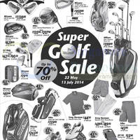 Read more about Golf House Up To 70% OFF SALE 22 May - 13 Jul 2014