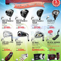 Read more about Golf Direct Pre GSS Goodies Sale 23 - 25 May 2014