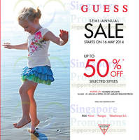 Read more about Guess Kids Semi-Annual SALE From 16 May 2014