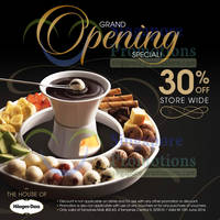 Read more about Haagen-Dazs 30% OFF Storewide @ Tampines Mall 29 May - 15 Jun 2014