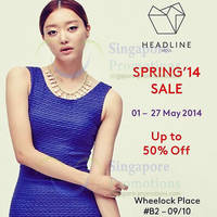 Read more about Headline Seoul Spring SALE 1 - 27 May 2014
