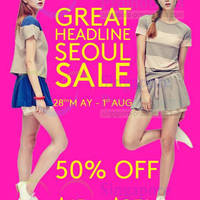 Read more about Headline Seoul SALE @ Wheelock Place 28 May - 1 Aug 2014