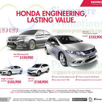 Read more about Honda Accord, Civic, Insight & CR-V Offers 10 May 2014
