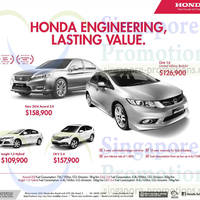 Read more about Honda Civic, Accord, CR-V & Insight Offers 24 May 2014