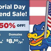Read more about HostGator 50% OFF Web Hosting & Domain Names Coupon Code 23 - 27 May 2014