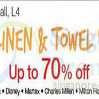 Read more about Isetan Bedlinen & Towel SALE @ Isetan Scotts 6 - 12 Jun 2014
